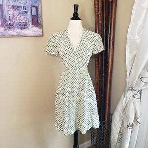 Vintage Betsey Johnson ~ Heart Silk Dress ~ Size 0